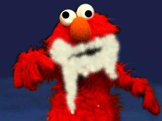 Foaming-at-the-mouth Elmo? | Soupy Trumpet