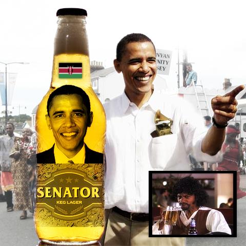 Barack Obama Beer