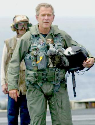 bush flight suit