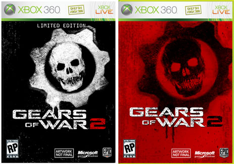 Gears Of War 2 Covers