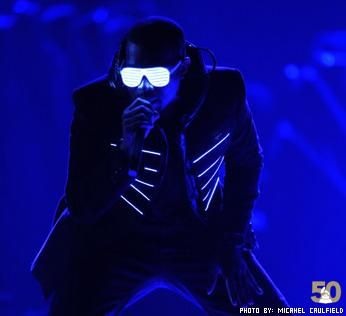 Kanye West at the Grammy Awards