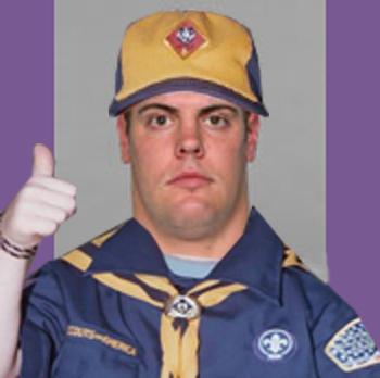 Matt Roth cub scout