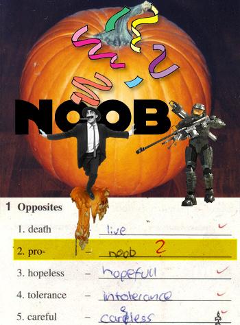 Grown Pumpkin Noob at Halo 3 Today