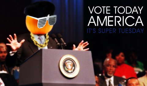 Vote Today Super Tuesday