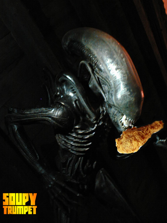 alien kfc